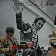 Fotografía antigua: JOSE PADILLA EL CICLON DE JEREZ FOTOGRAFIA CARTEL FIRMADO POR EL A FAMILIA CANO. Lote 246484155