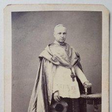 Photographie ancienne: CARDENAL ANTOLÍN MONESCILLO. AMELIA LÓPEZ CABRERA, JAÉN (ATRIB.). Lote 254133755