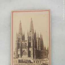 Photographie ancienne: FOTOGRAFIA APARICIO BURGOS FINALES DEL S XIX. Lote 254194430