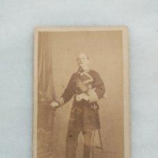 Photographie ancienne: CARTE DE VISITE J LAURENT FOTOGRAFO DE SM LA REINA Y DE SS AA RR. Lote 254325360