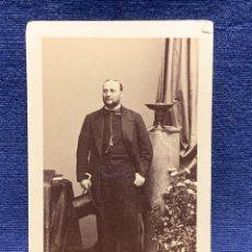 Fotografía antigua: CDV ARTISTA MUSICA TENOR ENRICO TAMBERLICK DISDERI MAISON GIROUX PARIS S XIX. Lote 260514925