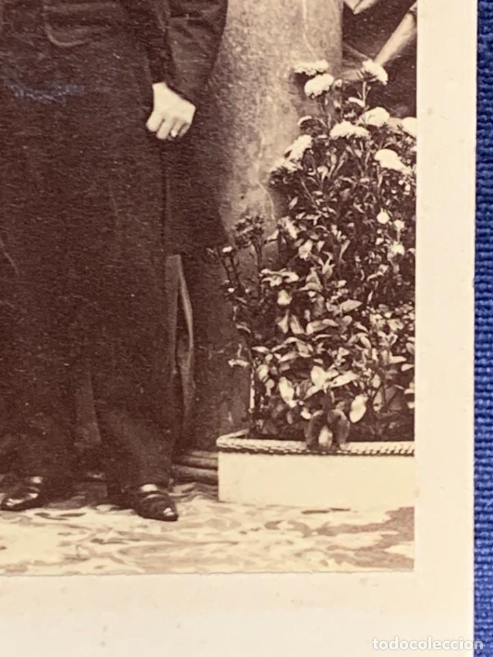 Fotografía antigua: CDV ARTISTA MUSICA TENOR ENRICO TAMBERLICK DISDERI MAISON GIROUX PARIS S XIX - Foto 10 - 260514925