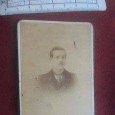 Fotografía antigua: L. AGUILAR, MADRID. EXCELENTE CARTE DE VISITE DE 1899. Lote 263084755