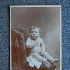 Fotografía antigua: ZARAGOZA FOTÓGRAFO E. BELTRÁN CARTE DE VISITA ANTIGUA. Lote 268959579