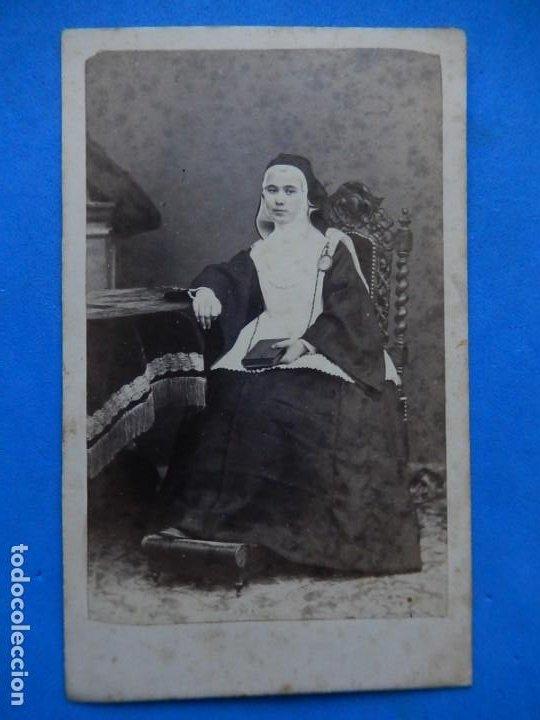 FOTOGRAFÍA. RELIGIOSA. POSIBLEMENTE MALLORQUINA. MALLORCA. BALEARES. ÚLTIMO TERCIO SIGLO XIX. (Fotografía Antigua - Cartes de Visite)