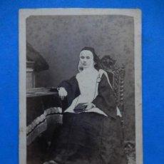 Fotografía antigua: FOTOGRAFÍA. RELIGIOSA. POSIBLEMENTE MALLORQUINA. MALLORCA. BALEARES. ÚLTIMO TERCIO SIGLO XIX.. Lote 271986743