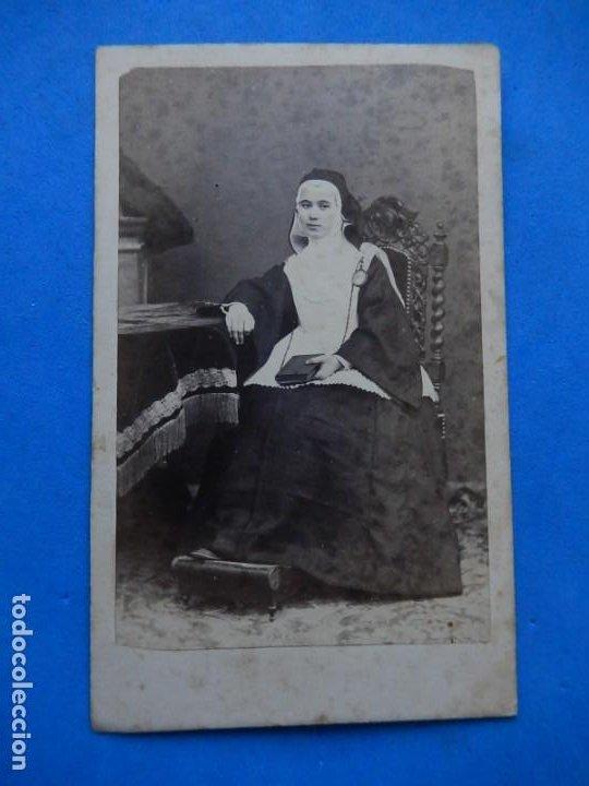 Fotografía antigua: Fotografía. Religiosa. Posiblemente mallorquina. Mallorca. Baleares. Último tercio siglo XIX. - Foto 2 - 271986743