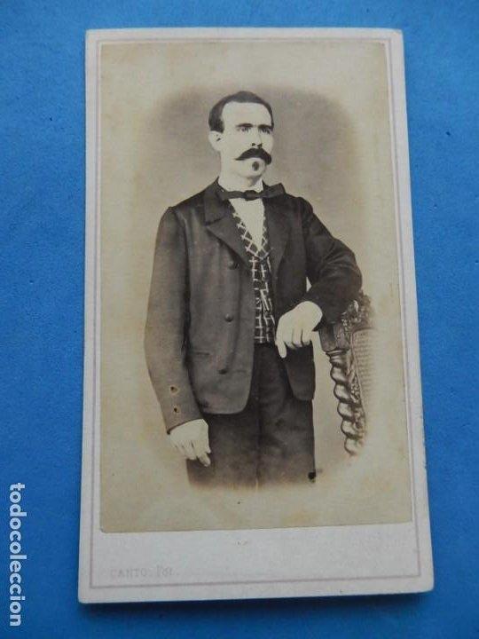 Fotografía antigua: Fotografías. Damas y caballeros. Varios fotógrafos. Barcelona. Último tercio siglo XIX. - Foto 2 - 271991578
