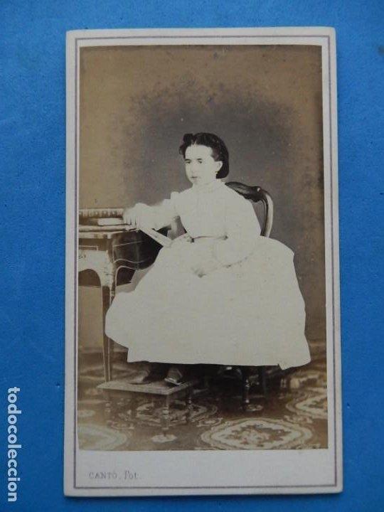 Fotografía antigua: Fotografías. Damas y caballeros. Varios fotógrafos. Barcelona. Último tercio siglo XIX. - Foto 4 - 271991578