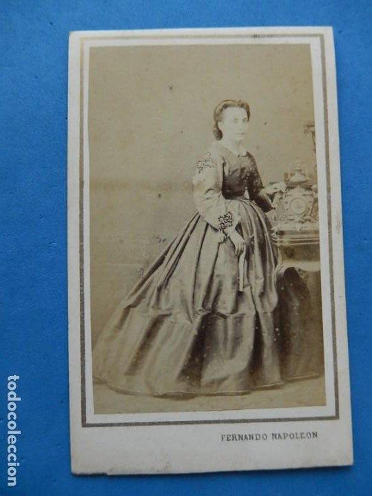 Fotografía antigua: Fotografías. Damas y caballeros. Varios fotógrafos. Barcelona. Último tercio siglo XIX. - Foto 6 - 271991578