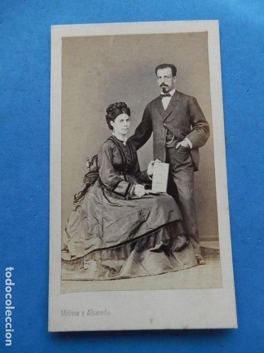 Fotografía antigua: Fotografías. Damas y caballeros. Varios fotógrafos. Barcelona. Último tercio siglo XIX. - Foto 8 - 271991578