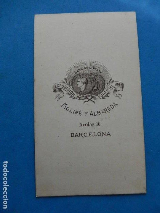 Fotografía antigua: Fotografías. Damas y caballeros. Varios fotógrafos. Barcelona. Último tercio siglo XIX. - Foto 9 - 271991578