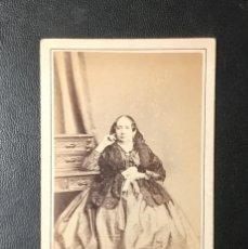 Photographie ancienne: HABANA , CUBA , CARTE DE VISITE , CDV , FREDRICKS Y DARIES , 1868. Lote 273988393