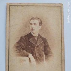 Fotografia antica: F-5129. CARTE DE VISITE. ESTUDIO A.CORDIGLIA. BARCELONA. FINALES S.XIX.. Lote 276629993
