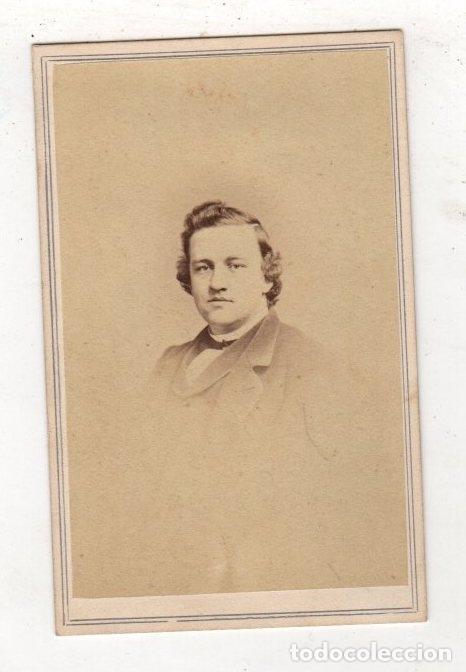 FOTOGRAFIA CARTE DE VISITE. J.E. MCCLEES, PHILADELPHIA (Fotografía Antigua - Cartes de Visite)
