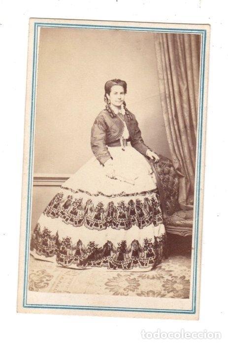 FOTOGRAFIA CARTE DE VISITE. GRAN FOTOGRAFIA J. WENZIN. SAN LUIS POTOSI, MEXICO (Fotografía Antigua - Cartes de Visite)