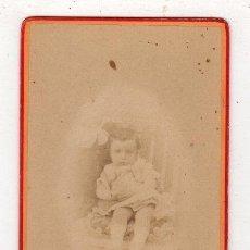 Fotografía antigua: FOTOGRAFIA CARTE DE VISITE. FERDINAND BERILLON. BAYONNE. Lote 277694018