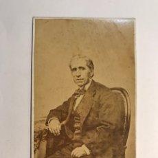 Fotografía antigua: ANTONIO GARCÍA Y JOAQUIN SOROLLA, UNA RELACIÓN ARTÍSTICA Y FAMILIAR. FOTOGRAFÍA CDV, (H.1850?). Lote 280859528