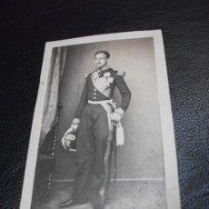 Fotografia antiga: EL REY DE NAPOLES FRANCISCO II MONARQUIA FOTOGRAFÍA FOTO ALPHONSE BERNOUD CARTE DE VISITE CDV. Lote 287352743