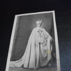 Fotografia antiga: JOSE MARIA ALVAREZ Y CHACON RELIGIOSO DE MALAGA FOTOGRAFIA FOTO FRANCISCO ROJO CARTE DE VISITE CDV. Lote 287695558