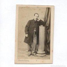 Fotografía antigua: ANTONI SERRALLACH - ARQUITECTO. FOTO: L. ROVIRA, BARCELONA. CDV. Lote 288692728