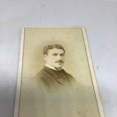 Fotografía antigua: CARTE DE VISITE SEÑOR CDV (6,5X10,5 CM) . PHOTO MULNIER, PARIS. H 1870. Lote 296737273