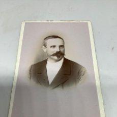 Fotografía antigua: CARTE DE VISITE SEÑOR CDV (6,5X10,5 CM) . PHOTO E. CHEVENON. COSNE.. Lote 296737718