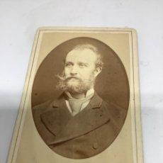 Fotografía antigua: CARTE DE VISITE BEBÉ CDV (6,5X10,5 CM) . ERNST PFLANZ MARIENBAD H 1880. Lote 296739188