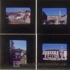 Fotografía antigua: AZCOITIA, GUIPUZCOA. .LOTE DE 4 DIAPOSITIVAS DE 35 MM ( VISTAS ). EKTACHROME. AÑOS 60. Lote 3949490