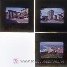 Fotografía antigua: ZARAUZ, GUIPUZCOA. .LOTE DE 3 DIAPOSITIVAS DE 35 MM ( VISTAS ). EKTACHROME. AÑOS 60. Lote 3949502