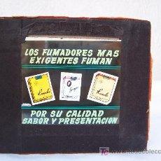 Fotografía antigua: DIAPOSITIVA PUBLICIDAD DE TABACO AÑOS 50 APROX: LOS FUMADORES MAS EXIGENTES FUMAN RUMBO , GOYA. Lote 26500697