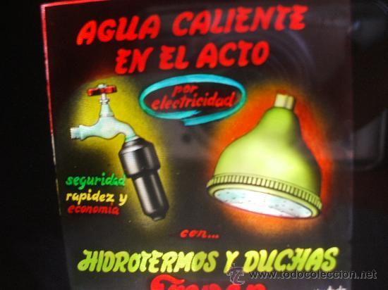 Fotografía antigua: DIAPOSITIVAS VIDRIO - PUBLICIDAD - AÑOS 60 - Foto 2 - 26716129