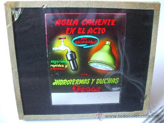 Fotografía antigua: DIAPOSITIVAS VIDRIO - PUBLICIDAD - AÑOS 60 - Foto 3 - 26716129
