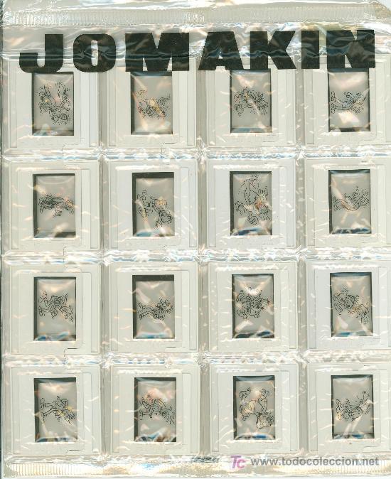 DIAPOSITIVA DE SISTEMA DE DIBUJO JOMAK. CONTIENE 16 DIAPOSITIVA. (Fotografía Antigua - Diapositivas)