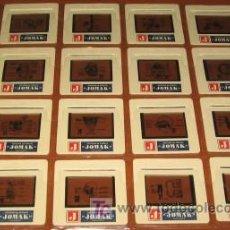 Fotografía antigua: 16 DIAPOSITIVAS DE SISTEMA DE DIBUJO JOMAK. Lote 26315090