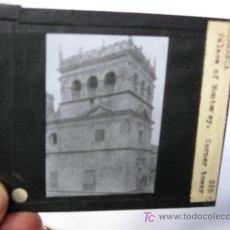 Fotografía antigua: SALAMANCA. PALACE OF MONTERREY, CORNER TOWER. DIAPOSITIVA DE CRISTAL PARA LINTERNA MÁGICA.. Lote 22921541