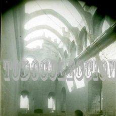 Fotografía antigua: + VALDERROBRES CASTILLO TERUEL CRISTAL POSITIVO, HACIA 1920 ORIGINAL DIAPOSITIVA. Lote 26920843
