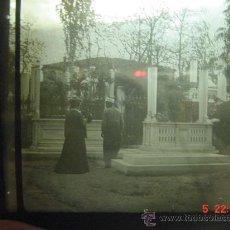Fotografía antigua: 12 ITALIA ITALY ??? CRISTAL PARA LINTERNA MAGICA - AÑOS 1900. Lote 25936728