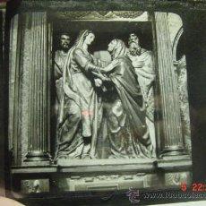 Fotografía antigua: 15 BURGOS O TOLEDO CRISTAL PARA LINTERNA MAGICA - AÑOS 1900. Lote 25936811