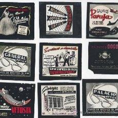 Fotografía antigua: LOTE DE DOCE FILMINA DEPOSITIVA PUBLICIDAD OVIEDO GIJON ASTURIAS AÑOS 50 60. Lote 26980822