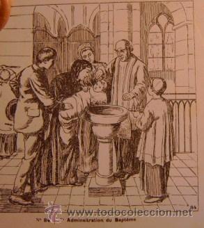 DIAPOSITIVAS RELIGIOSAS CATEQUESIS, PAPEL CEBOLLA, FINALES DEL XIX. TEXTOS FRANCES (Fotografía Antigua - Diapositivas)