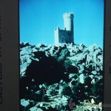 Fotografía antigua: TORRELODONES MADRID CASTILLO DIAPOSITIVA AÑOS 50. Lote 28103769