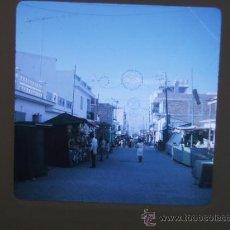 Fotografía antigua: ALMERIA VISTA DE UN CALLE DIAPOSITIVA KODAK AÑOS 60. Lote 28111485