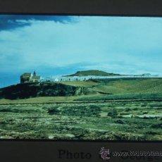 Fotografía antigua: PALOS DE LA FRONTERA HUELVA VISTA DIAPOSITIVA KODAK AÑOS 50. Lote 28111889