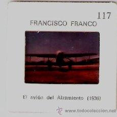 Fotografía antigua: FRANCO. EL AVION DEL ALZAMIENTO. Lote 30345505
