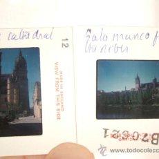 Fotografía antigua: SALAMANCA LOTE 6 DIAPOSITIVAS KODAK AÑOS 60 REALIZADAS POR TURISTA. Lote 31340515