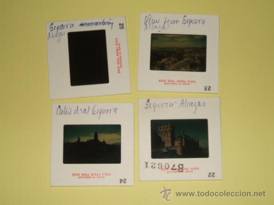 Fotografía antigua: SEGOVIA LOTE 4 DIAPOSITIVAS KODAK AÑOS 60 REALIZADAS POR TURISTA INGLES - Foto 2 - 31340555
