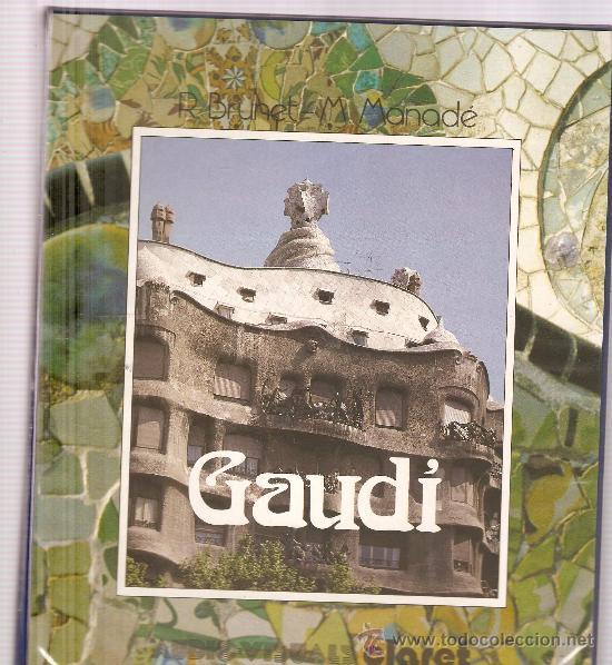GAUDI (LIBRO + CASETE + 96 DIAPOSITIVAS) (Fotografía Antigua - Diapositivas)