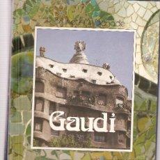 Fotografía antigua: GAUDI (LIBRO + CASETE + 96 DIAPOSITIVAS). Lote 33066809