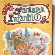 Fotografía antigua: FANTASIA INFANTIL 1 (LIBRO + CASETE + 150 DIAPOSITIVAS). Lote 33066911